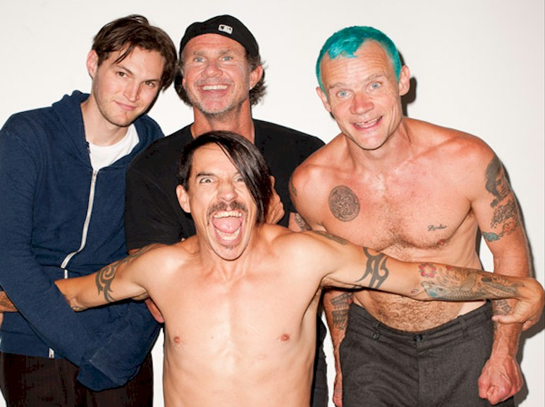 Red Hot Chili Peppers lideram a parada Billboard
