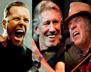 Metallica Roger Waters Neil Young Bridge School Benefit  2016