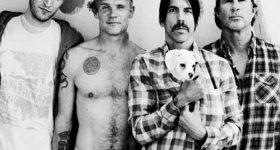 Red Hot Chili Peppers primeira turnê cinco anos The Getaway 2016