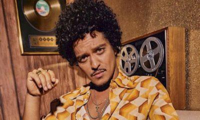"""Bruno Mars recusa a idéia de merchandising: """"estou aqui para fazer música"""""""