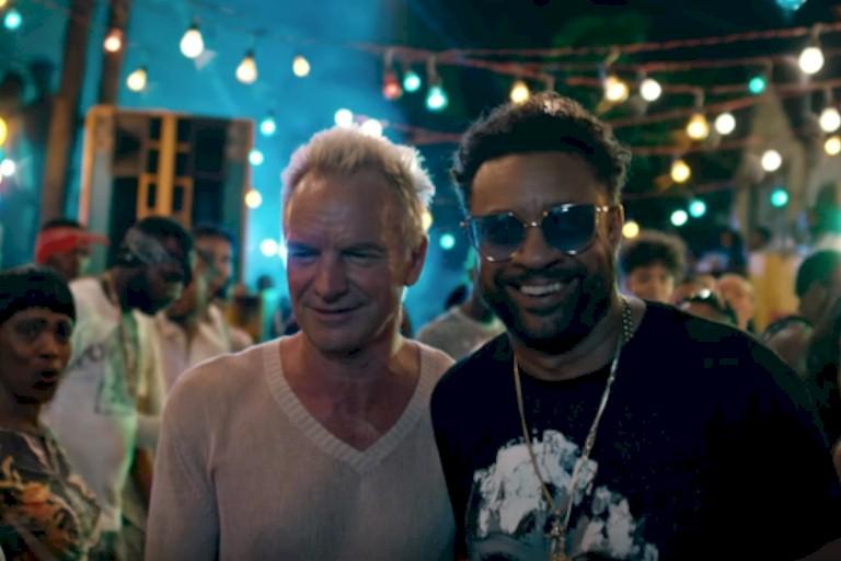 """Sting lança clipe de """"Don't Make Me Wait"""" com Shaggy na Jamaica"""