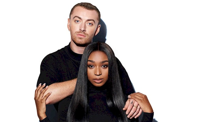 "Sam Smith e Normani revelam os bastidores do clipe ""Dancing With A Stranger"""