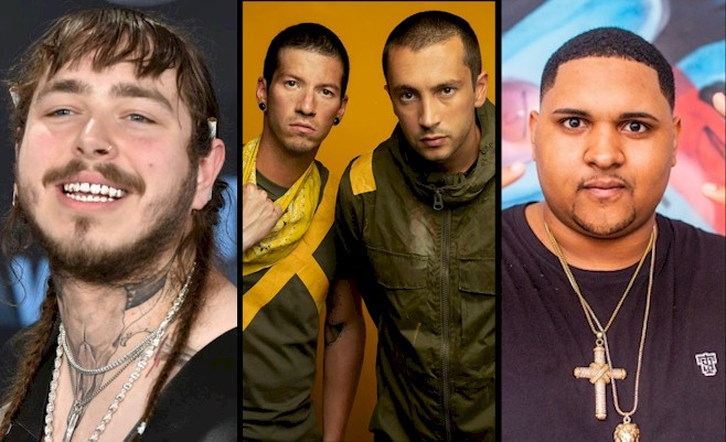 Lollapalooza: Post Malone, Twenty One Pilots e Kevin O Chris são as atrações mais comentadas no Twitter