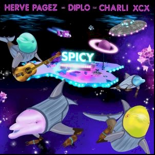 "Diplo, Herve Pagez e Charli XCX se juntam na nova música ""Spicy"""