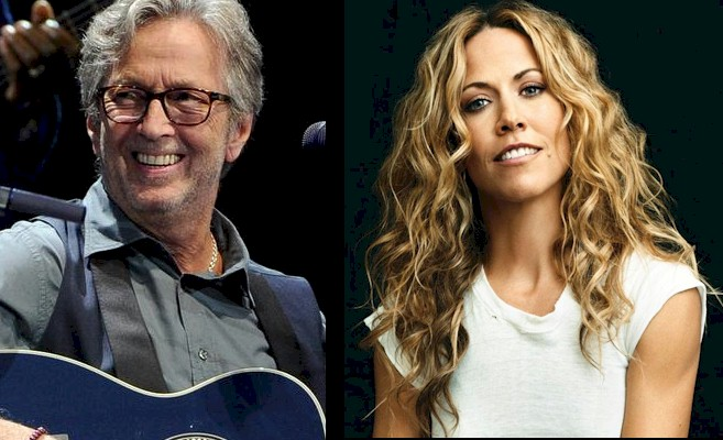 Eric Clapton revisita clássico de George Harrison no novo álbum de Sheryl Crow