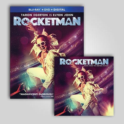 Rocketman ganha lançamentos em DVD e Blu-ray em agosto