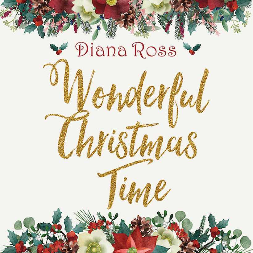 "Diana Ross relança o álbum ""Wonderful Christmas Time"" em vinil"