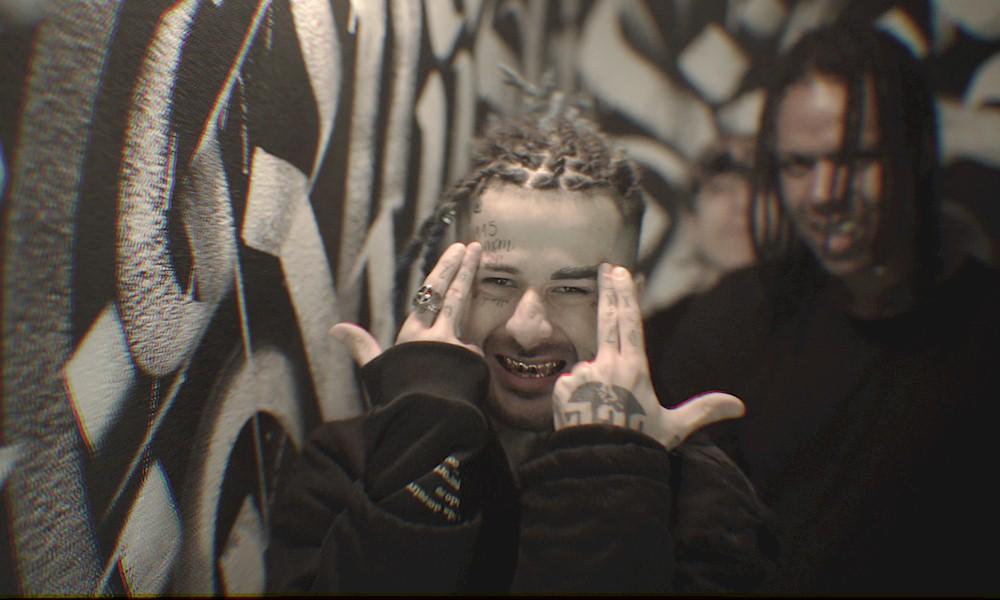 """Duzz aposta em """"Street Art"""" para ambientação do clipe de """"Sentença"""""""