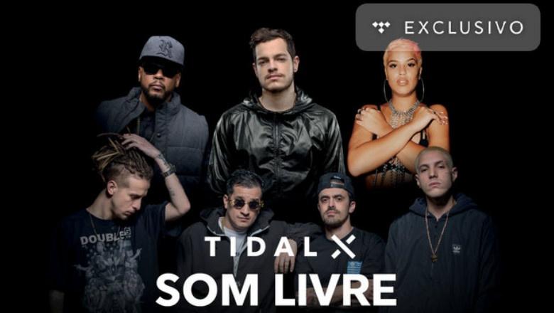 TIDAL libera conteúdo de shows de Edi Rock, Baskhar, Haikaiss e Bivolt