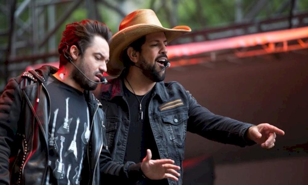 """Fernando e Sorocaba divulgam primeiro EP de """"Isso é Churrasco"""""""