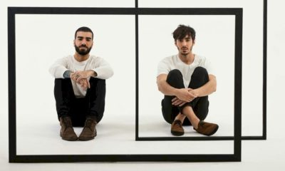 """Duo OUTROEU disponibiliza o lyric video de """"Não Olha Assim Pra Mim"""""""