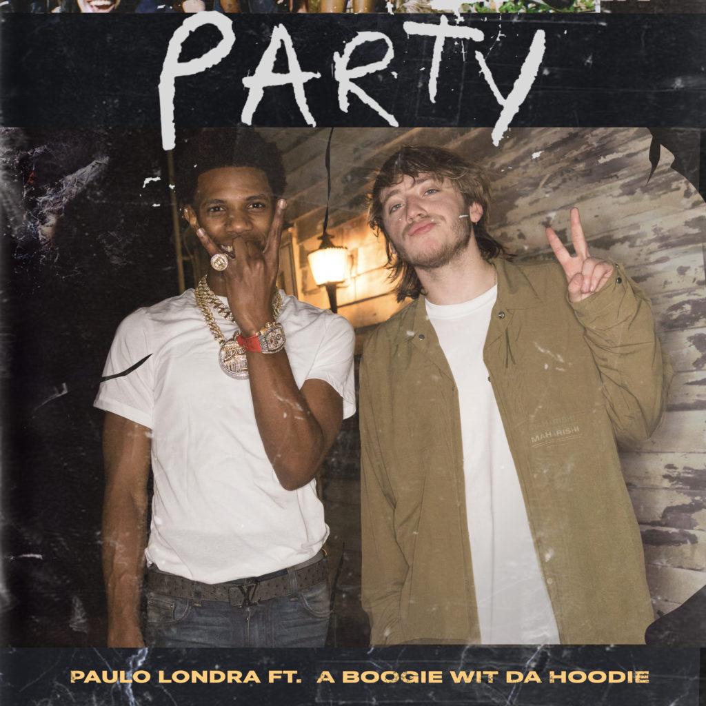 """Paulo Londra lança o novo single """"Party"""" com A Boogie Wit Da Hoodie"""