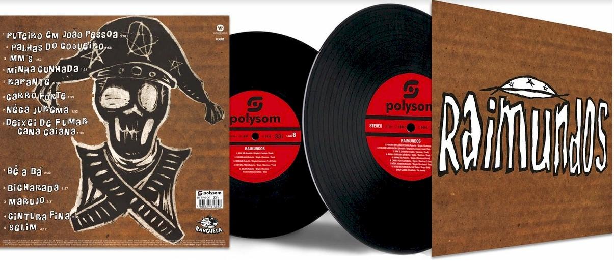 Polysom relança em vinil álbum de estreia do Raimundos