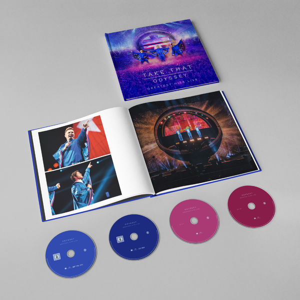 "Take That anuncia ""Odyssey: Greatest Hits Live"" em DVD e Blu-ray"