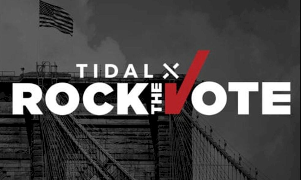 Assista hoje ao TIDAL X Rock the Vote, com shows de Alicia Keys e artistas da música urbana nos EUA