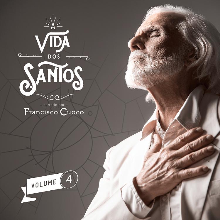 """Coletânea """"A Vida dos Santos"""" conta com narração de Francisco Cuoco"""
