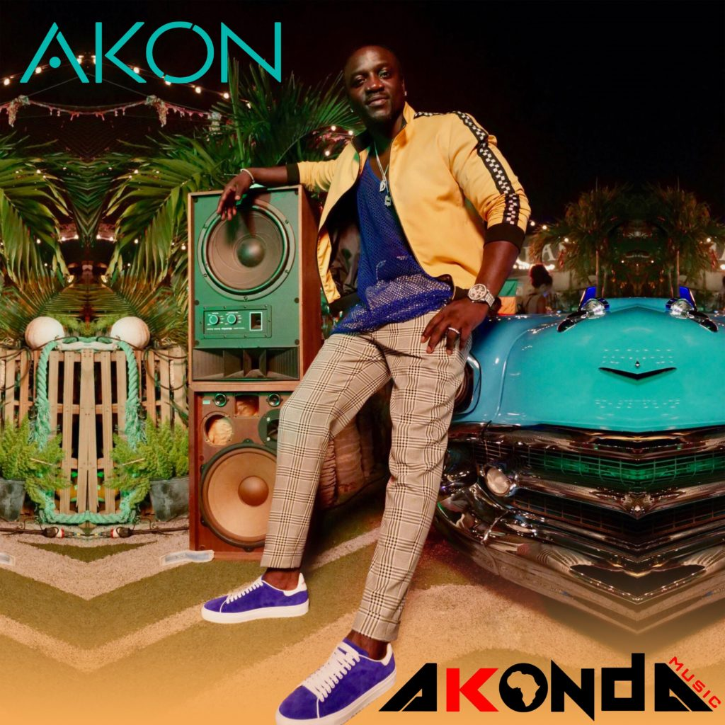 "Akon lança seu novo álbum ""Akonda"""