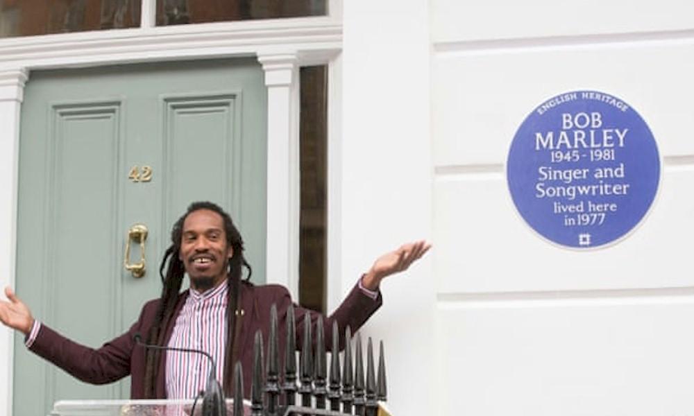 Bob Marley é homenageado com placa histórica em Londres