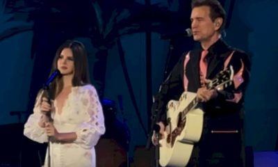 "Lana Del Rey canta o sucesso ""Wicked Games"" com Chris Isaak"
