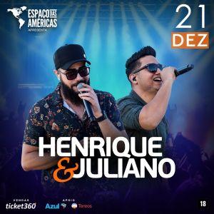 Henrique e Juliano se apresentam em São Paulo no mês de dezembro
