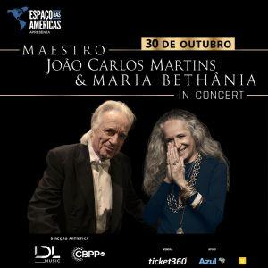 João Carlos Martins e Maria Bethânia apresentam novo show em São Paulo