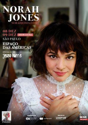 Norah Jones fará show extra em São Paulo