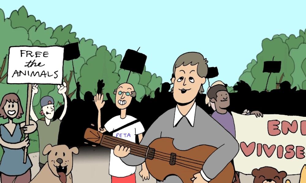Paul McCartney resgata música de 1993 em apoio aos direitos dos animais