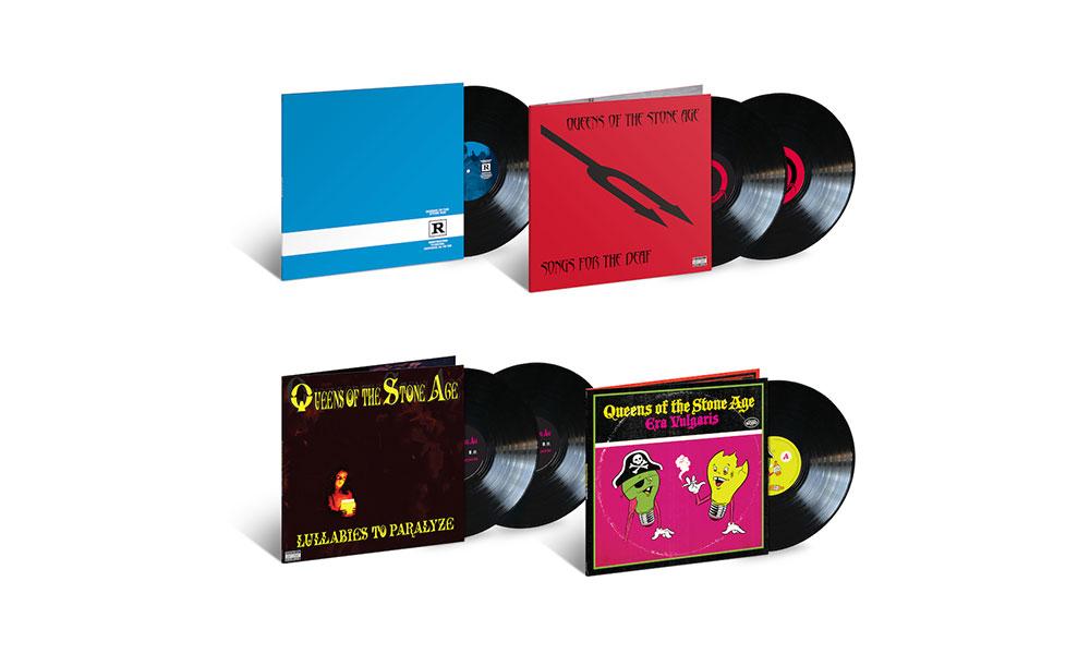 Queens Of The Stone Age relançam quatro álbuns em vinil