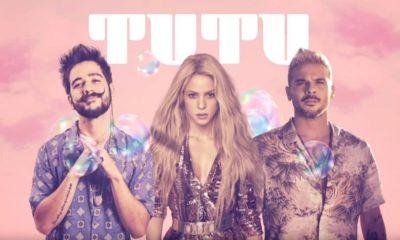 """Shakira se junta a Pedro Capó e Camilo na nova versão do sucesso """"Tutu"""""""