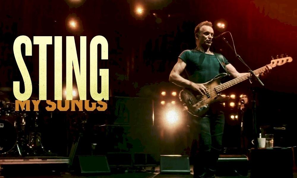 """Sting lançará novo álbum """"My Songs: Live"""" em novembro"""