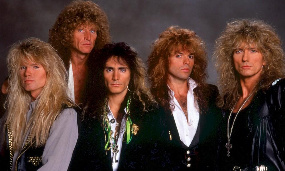 """Whitesnake relança o álbum """"Slip Of the Tongue"""" em edição comemorativa"""