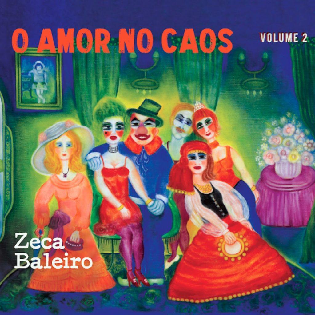 """Zeca Baleiro apresenta inéditas no volume 2 de """"O Amor no Caos"""""""