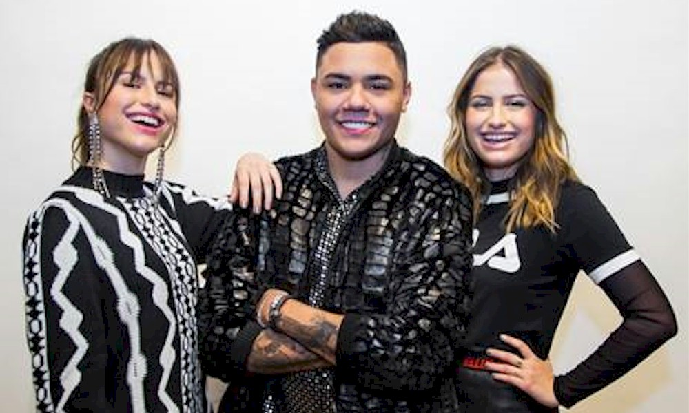"Júlia & Rafaela: ""Latada na Vida"" com Felipe Araújo estreia nas rádios"