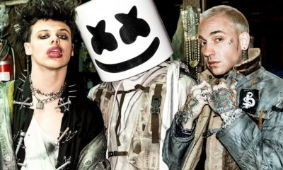 "Marshmello, Yungblud e Blackbear se unem em ""Tongue Tied"""