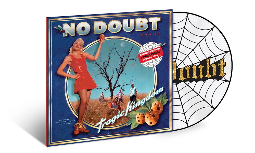 "No Doubt: álbum ""Tragic Kingdom"" é relançado em Picture Disc"