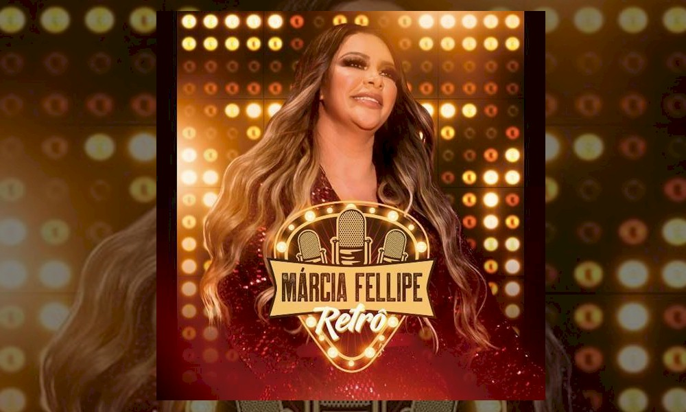 "Márcia Fellipe revisita a carreira no álbum ""Retrô"""