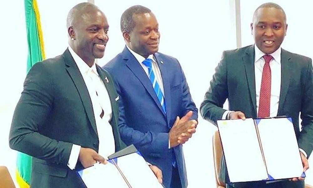Akon cria sua própria cidade no Senegal