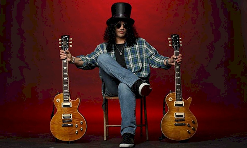 Gibson lança coleção de guitarras assinadas por Slash