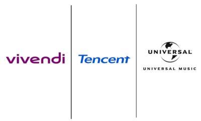 Tencent compra parte da Universal Music por US$ 3,4 bilhões