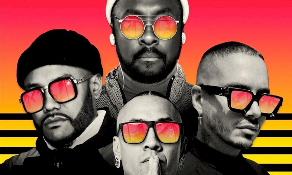 """The Black Eyed Peas conquista primeiro topo latino da Billboard com """"Ritmo"""", com J Balvin"""