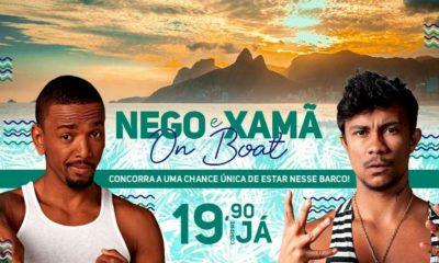 Nego do Borel e Xamã farão show para plataforma de streaming