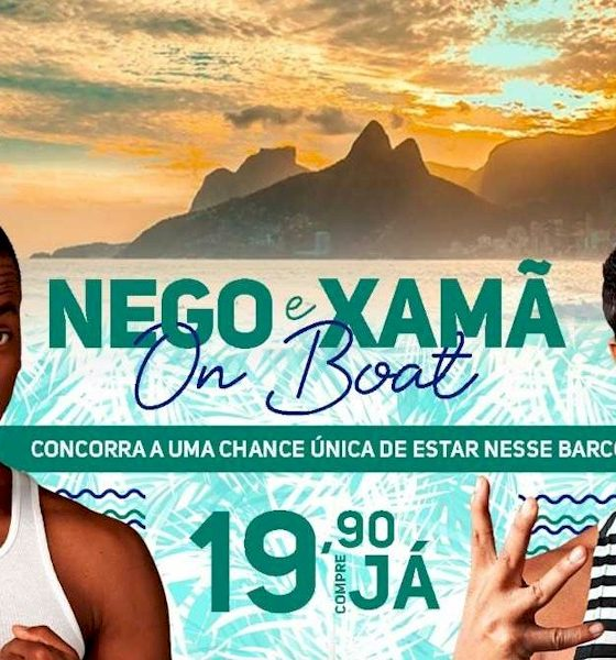 Nego do Borel e Xamã farão show para plataforma de streaming