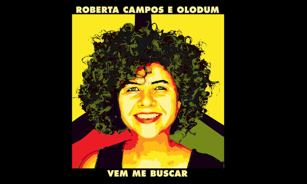 """Roberta Campos e Olodum lançam """"Vem Me Buscar"""""""