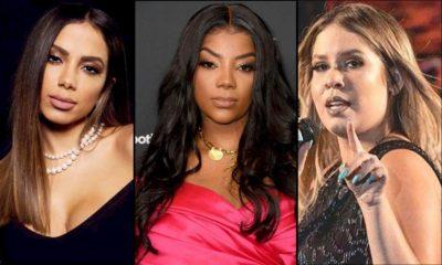 Anitta, Ludmilla e Marília Mendonça são as mais ouvidas no Brasil, diz Spotify