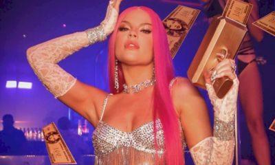 "Luísa Sonza sensualiza em pole dance no clipe ""Braba"""