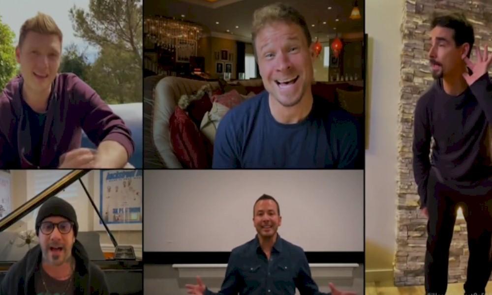 Backstreet Boys se reúnem em vídeo para cantar na quarentena do coronavírus