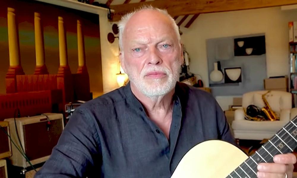 David Gilmour homenageia Leonard Cohen em live