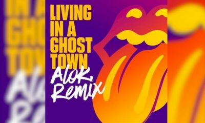 """Rolling Stones: """"Living In A Ghost Town"""" ganha remix de Alok"""