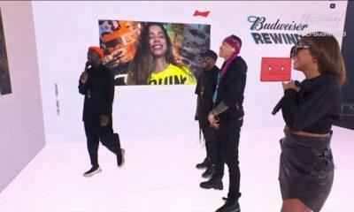"""Anitta surge em live do Black Eyed Peas e anuncia que """"tem música nova chegando"""""""