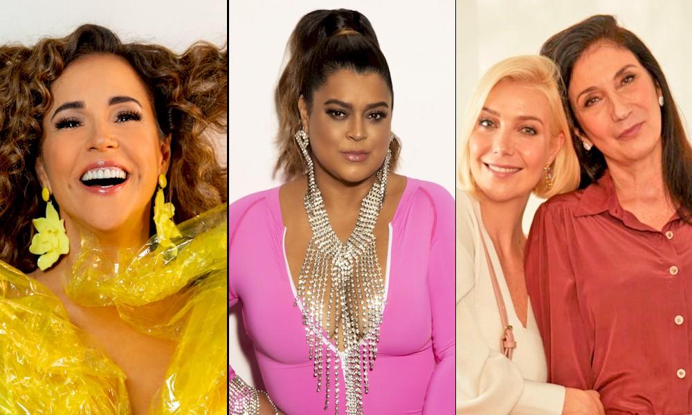 Daniela Mercury, Preta Gil e Luiza Possi participam de festival beneficente no YouTube